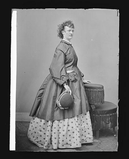 Kate Ullman. Sitter: Kate Ullman. Date: 1860s. Record ID: npg_NPG.81.M1549.