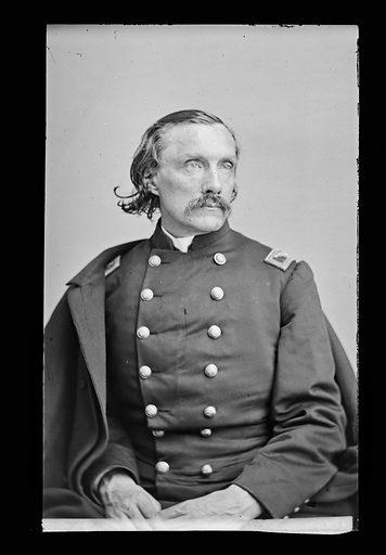 Gouveneur K. Warren. Sitter: Gouverneur Kemble Warren, 8 Jan 1830 – 8 Aug 1882. Date: 1880s. Record ID: npg_NPG.81.M1604.