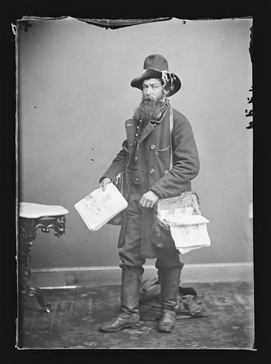 Alfred Waud. Sitter: Alfred R. Waud, 2 Oct 1828 – 6 Apr 1891. Date: 1860s. Record ID: npg_NPG.81.M201.