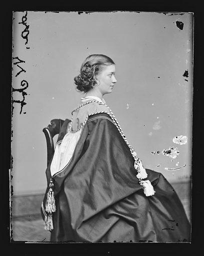 Ada Webb. Sitter: Ada Webb. Date: 1860s. Record ID: npg_NPG.81.M1612.