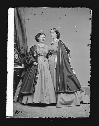Ada and Emma Webb. Sitters: Ada Webb; Emma Webb. Date: 1860s. Record ID: npg_NPG.81.M1613.