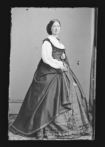 Emma Webb. Sitter: Emma Webb. Date: 1860s. Record ID: npg_NPG.81.M1616.