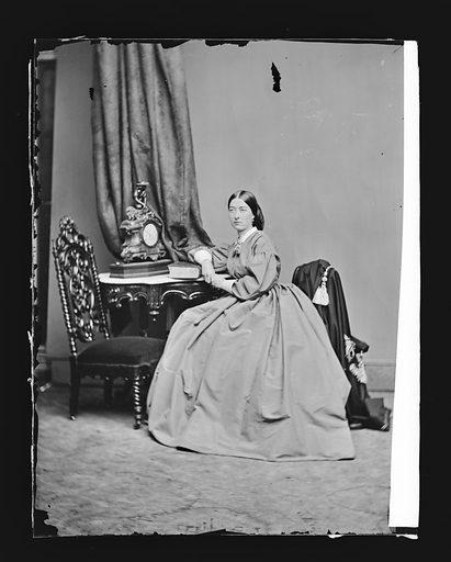 Emma Webb. Sitter: Emma Webb. Date: 1860s. Record ID: npg_NPG.81.M1617.