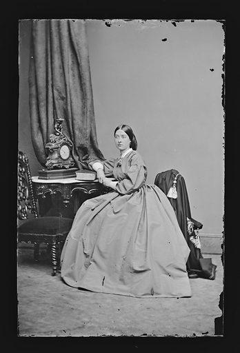 Emma Webb. Sitter: Emma Webb. Date: 1860s. Record ID: npg_NPG.81.M1619.