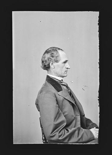 Morton S. Wilkinson. Sitter: Morton Smith Wilkinson, 22 Jan 1819 – 4 Feb 1894. Date: 1860s. Record ID: npg_NPG.81.M1651.