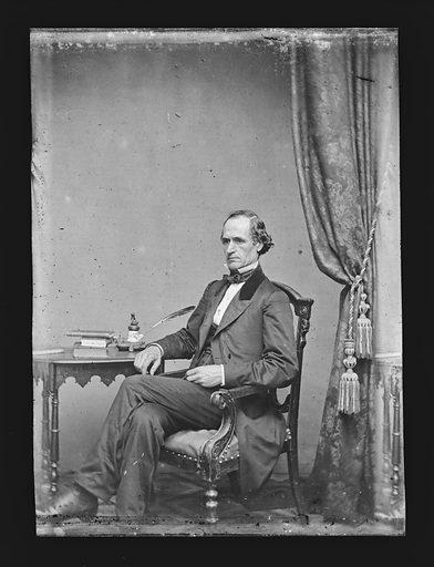 Morton S. Wilkinson. Sitter: Morton Smith Wilkinson, 22 Jan 1819 – 4 Feb 1894. Date: 1860s. Record ID: npg_NPG.81.M1654.