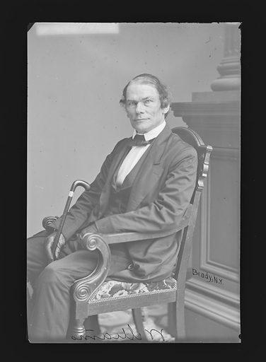 William R. Williams. Sitter: William R. Williams, 1804 – 1885. Date: 1860s. Record ID: npg_NPG.81.M1665.