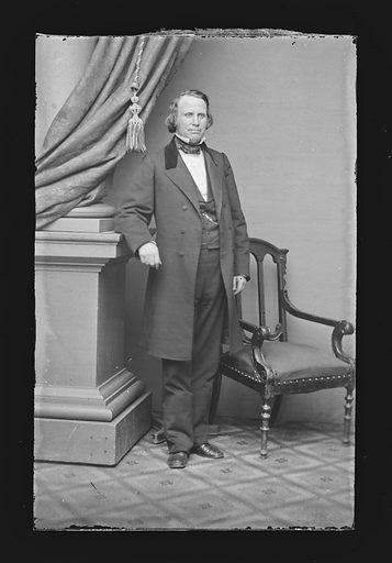 Henry Wilson. Sitter: Henry Wilson, 16 Feb 1812 – 22 Nov 1875. Date: 1860s. Record ID: npg_NPG.81.M1671.