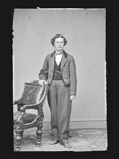 Richard Yates. Sitter: Richard Yates, 1815 – 1873. Date: 1860s. Record ID: npg_NPG.81.M1691.