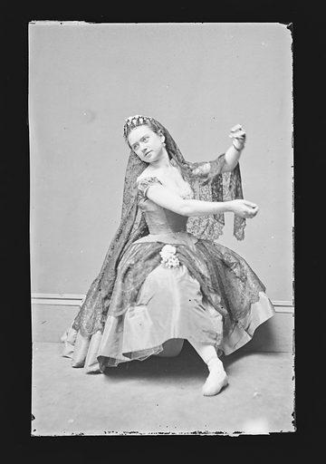 Ernestine de Faiber. Sitter: Ernestine de Faiber, 1843 – ? Date: 1860s. Record ID: npg_NPG.81.M1698.