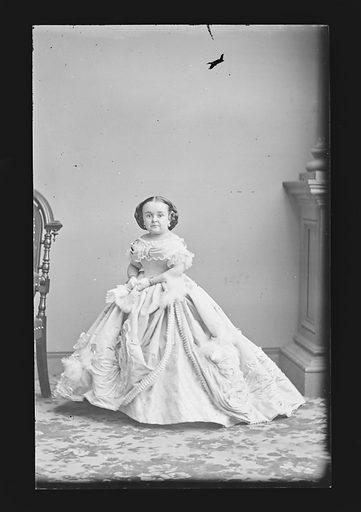 Mercy Lavinia Warren Stratton. Sitter: Lavinia Warren Stratton, 31 Oct 1841 – 25 Nov 1919. Date: 1860s. Record ID: npg_NPG.81.M1789.