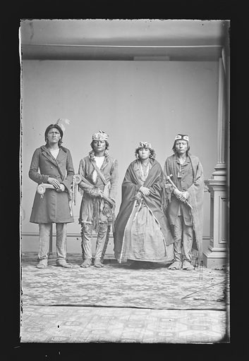 Indian Group. Date: 1860s. Record ID: npg_NPG.81.M1993.