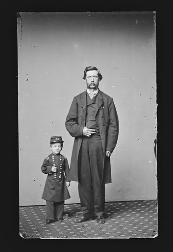 Edward Newell and Another. Sitter: Edward Newell. Date: 1860s. Record ID: npg_NPG.81.M2064.