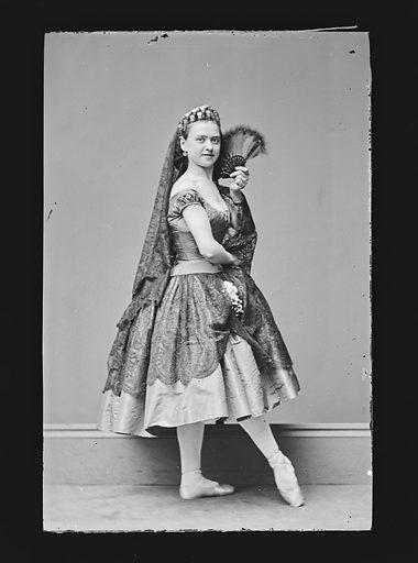 Ernestine de Faiber. Sitter: Ernestine de Faiber, 1843 – ? Date: 1860s. Record ID: npg_NPG.81.M2087.
