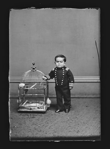 Admiral Dot. Sitter: Leopold Kahn, ? – c. 1918. Date: 1860s. Record ID: npg_NPG.81.M2150.