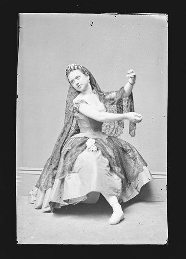 Ernestine de Faiber. Sitter: Ernestine de Faiber, 1843 – ? Date: 1860s. Record ID: npg_NPG.81.M2166.