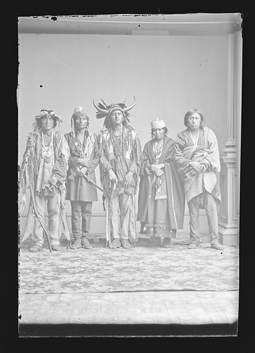 Indian Group. Date: 1860s. Record ID: npg_NPG.81.M2271.