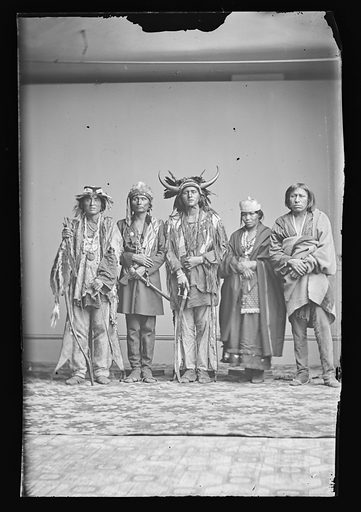 Indian Group. Date: 1860s. Record ID: npg_NPG.81.M2273.