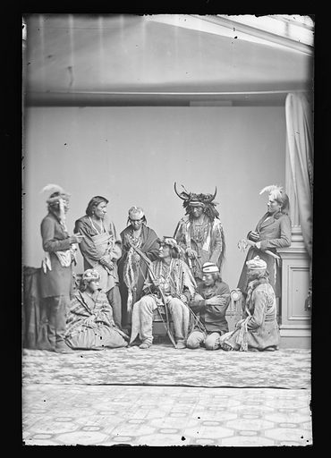 Indian Group. Date: 1860s. Record ID: npg_NPG.81.M2274.