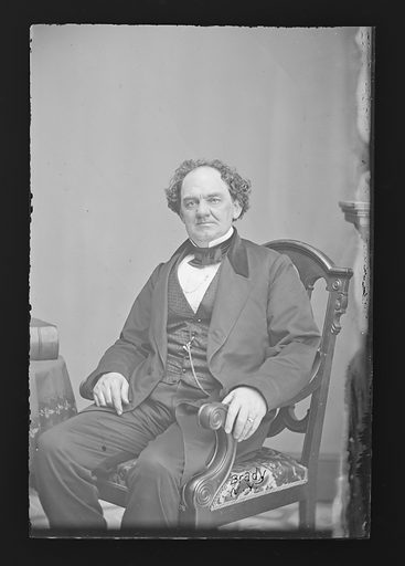 Phineas T. Barnum. Sitter: Phineas Taylor Barnum, 5 Jul 1810 – 7 Apr 1891. Date: 1860s. Record ID: npg_NPG.81.M253.