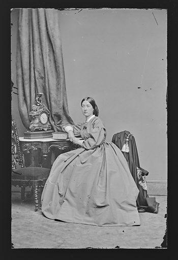Emma Webb. Sitter: Emma Webb. Date: 1860s. Record ID: npg_NPG.81.M2391.