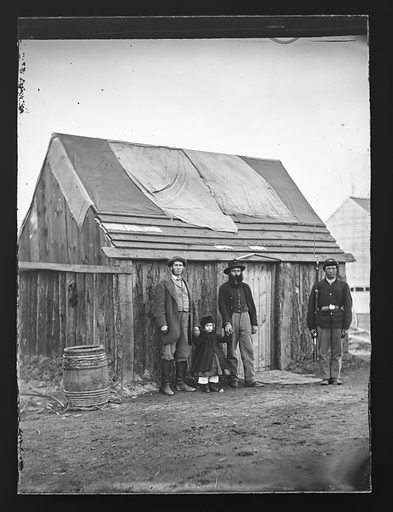 Camp Scene/New York 7th Regiment. Date: 1860s. Record ID: npg_NPG.81.M2422.