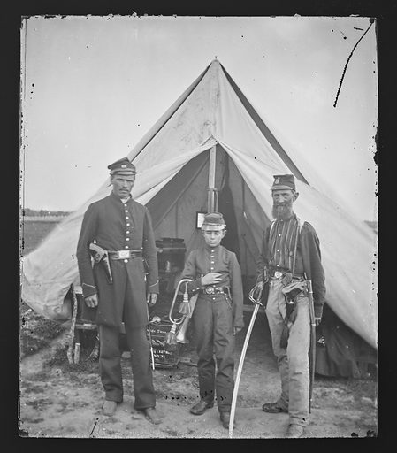 Camp Scene/New York 7th Regiment. Date: 1860s. Record ID: npg_NPG.81.M2423.
