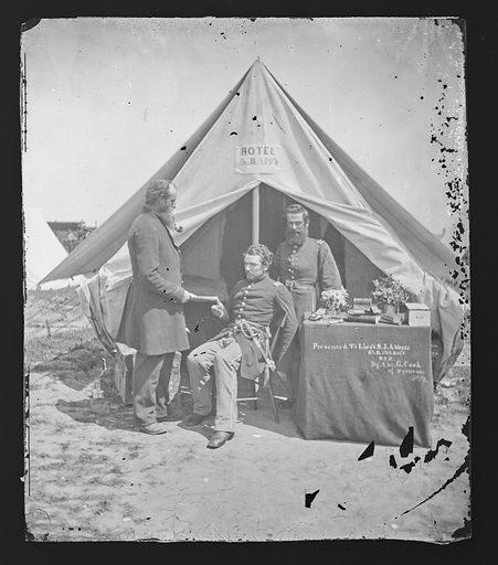 Camp Scene/New York 7th Regiment. Date: 1860s. Record ID: npg_NPG.81.M2424.