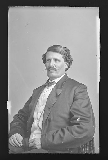 J. G. Ortega. Sitter: J. G. Ortega. Date: 1860s. Record ID: npg_NPG.81.M2433.