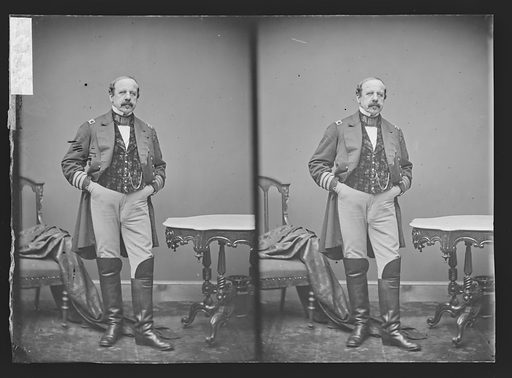 Commander Zetman. Sitter: Commander Zetman. Date: 1860s. Record ID: npg_NPG.81.M2515.2.