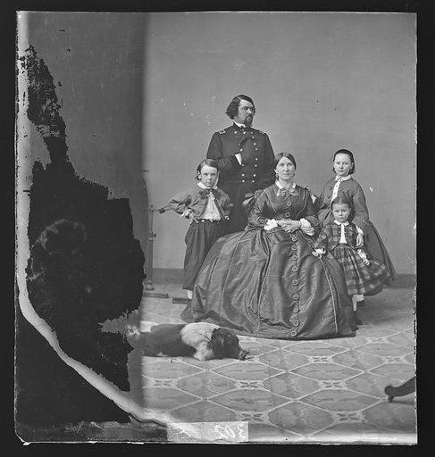 Samuel D. Sturgis and Family. Sitters: Samuel Davis Sturgis, 1822 – 1889; Mrs. Samuel D. Sturgis. Date: 1880s. Record ID: npg_NPG.81.M2546.