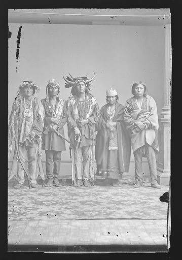 Indian Group. Date: 1860s. Record ID: npg_NPG.81.M2579.