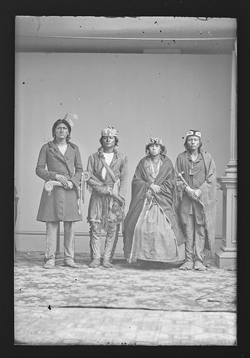 Indian Group. Date: 1860s. Record ID: npg_NPG.81.M2591.