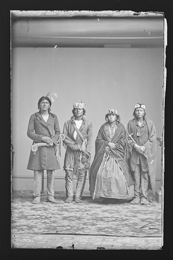 Indian Group. Date: 1860s. Record ID: npg_NPG.81.M2592.
