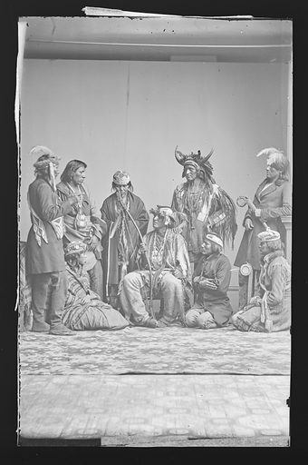 Indian Group. Date: 1860s. Record ID: npg_NPG.81.M2608.