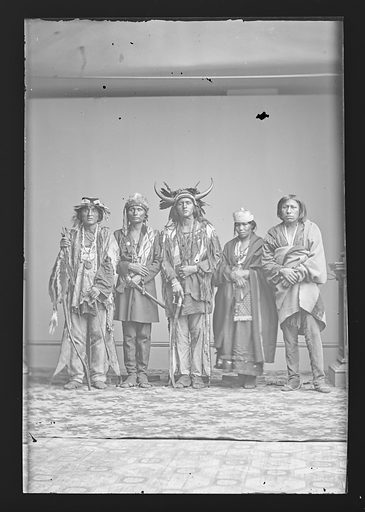 Indian Group. Date: 1860s. Record ID: npg_NPG.81.M2609.