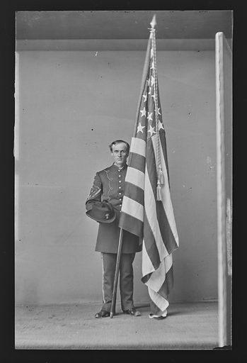 Sergeant Bates. Sitter: Sergeant Gilbert Bates. Date: 1860s. Record ID: npg_NPG.81.M2625.