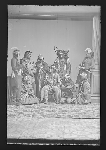 Indian Group. Date: 1860s. Record ID: npg_NPG.81.M2635.