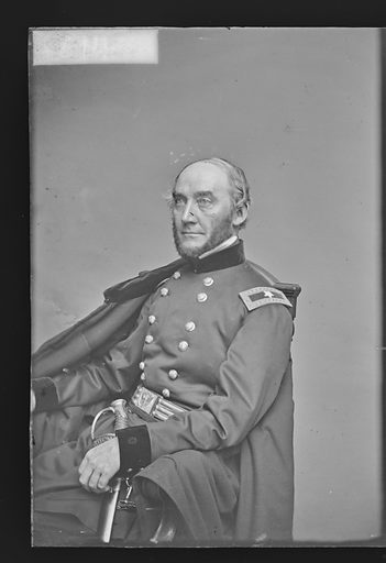 George Washington Cullum. Sitter: George Washington Cullum, 1809 – 1892. Date: 1860s. Record ID: npg_NPG.81.M2666.1.