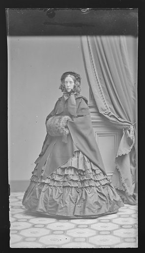 Mrs. Frank Foster. Sitter: Mrs. Frank Foster. Date: 1860s. Record ID: npg_NPG.81.M2675.