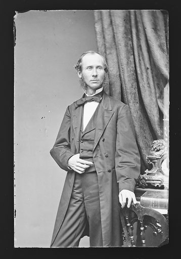 Edward McPherson. Sitter: Edward McPherson, 1830 – 1895. Date: 1860s. Record ID: npg_NPG.81.M2737.