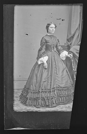 Miss J. Lent. Sitter: J. Lent. Date: 1860s. Record ID: npg_NPG.81.M2751.
