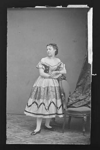 Rosa Cooke. Sitter: Rosa Cooke. Date: 1860s. Record ID: npg_NPG.81.M2769.