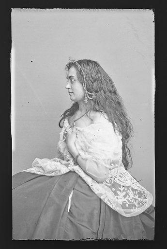 Hannah Albertine. Sitter: Hannah Albertine. Date: 1860s. Record ID: npg_NPG.81.M2776.