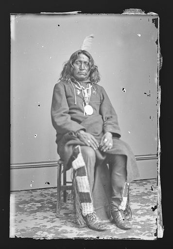 Spotted Leopard. Sitter: Spotted Leopard, active mid 19th Century. Date: 1860s. Record ID: npg_NPG.81.M2813.