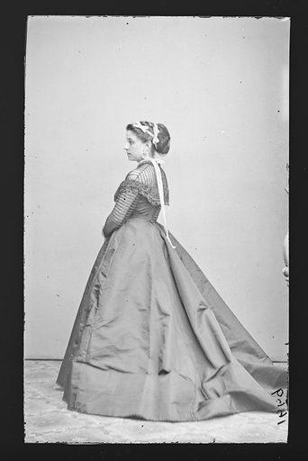 Anna LaGrange. Sitter: Anna LaGrange. Date: 1860s. Record ID: npg_NPG.81.M2889.