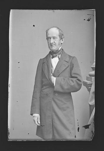 Edward Stanly. Sitter: Edward Stanly, 1810 – 1872. Date: 1860s. Record ID: npg_NPG.81.M2898.