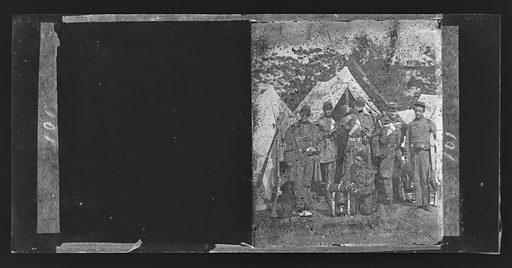 Camp Scene/New York 7th Regiment. Date: 1860s. Record ID: npg_NPG.81.M2933.