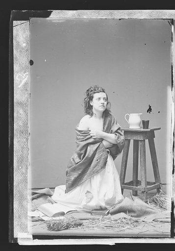 Pauline Cushman. Sitter: Pauline Cushman, 10 Jun 1833 – 2 Dec 1893. Date: 1860s. Record ID: npg_NPG.81.M2943.1.