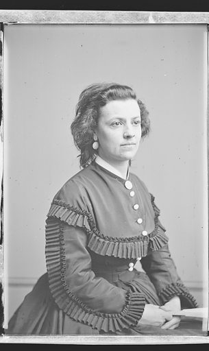 Pauline Cushman. Sitter: Pauline Cushman, 10 Jun 1833 – 2 Dec 1893. Date: 1860s. Record ID: npg_NPG.81.M2943.2.